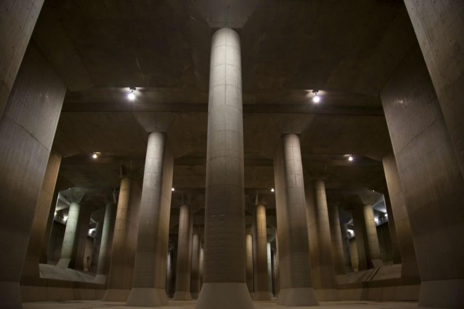 G-Cans inžinerinis statinys – požeminė šventykla